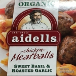 Aidells Chicken Meatballs Sweet Basil and Roasted Garlic - Simply SCD