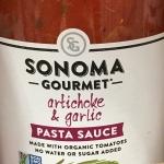 Sonoma Gourmet Artichoke and Garlic Pasta Sauce - Simply SCD